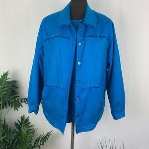 Cervelle Jacket & short sleeves top Size L